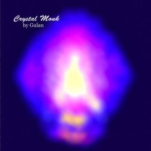 Meditation Ambient New Age music album named Crystal Monk