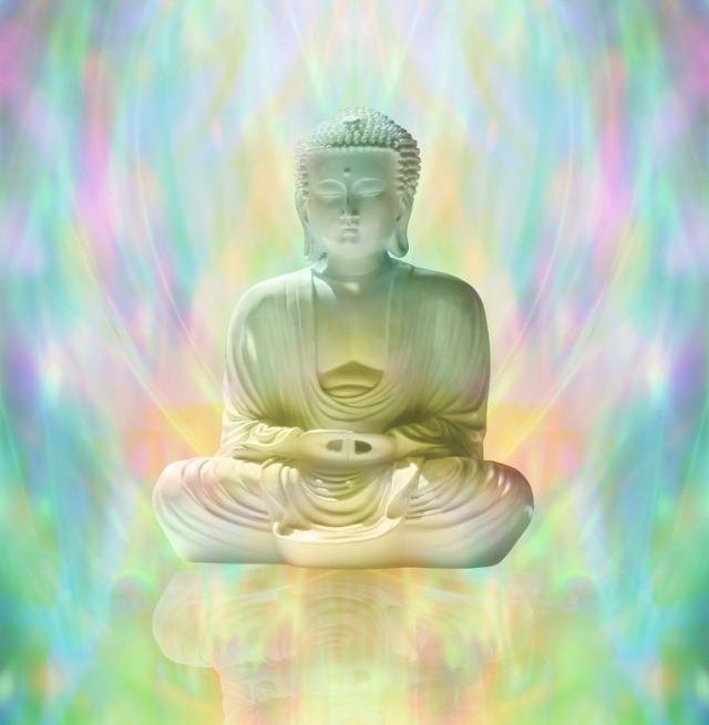 Buddhta meditating