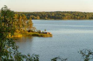 Zakharkin's photo of the nice view in Karelia